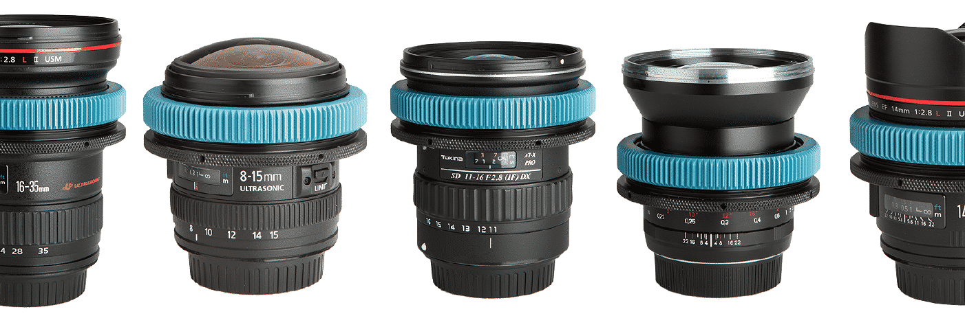 ND LensGear on multiple lenses